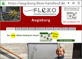 Flexo Handlauf Partner in Augsburg
