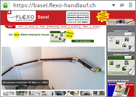 Flexo Handlauf Partner in Basel