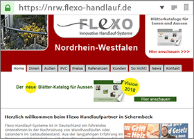 Flexo Handlauf Partner in Nordrhein-Westfalen